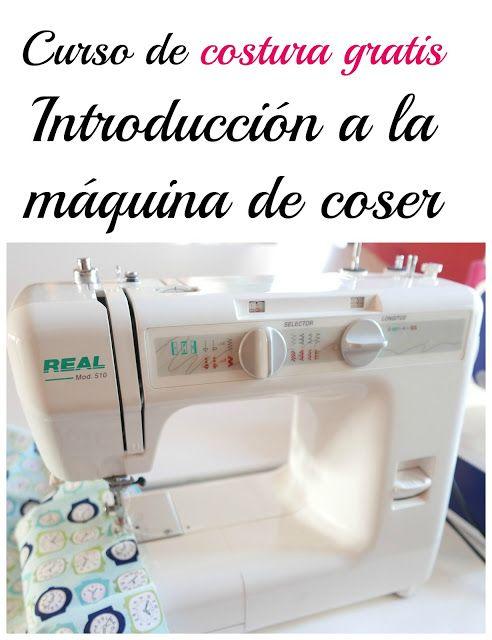 Colours for Baby, Patrones y Tutoriales de Costura : Curso de costura gratis. Introducción a la máquina...