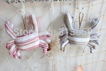 Zakka mediterrane diy ambachten decoratieve hanger doek katoen en linnen speelgoed pop( 19x20cm)