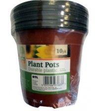 plant pots 10pk