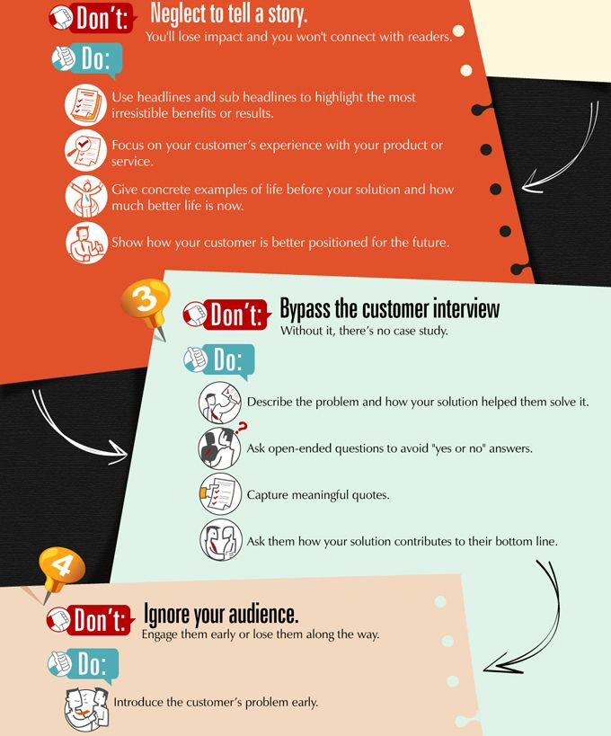 How to Write a Killer Customer Case Study :Infographic