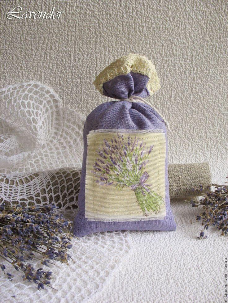 """Купить """"Тихая ночь"""" саше с лавандой мешочек аромат подарок - саше, саше ароматическое, sachet, sachets, lavender sachet, scented sachet."""
