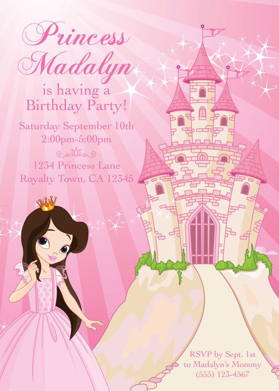 princes birthday BRUNETTE PINK PRINCESS Birthday Party Themed by PaperPartyCo  princes birthday
