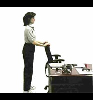 Full body stretches you can do at your desk.