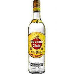 Havana Club 3 Year Old White Rum, Cuba - 40% ABV   70cl