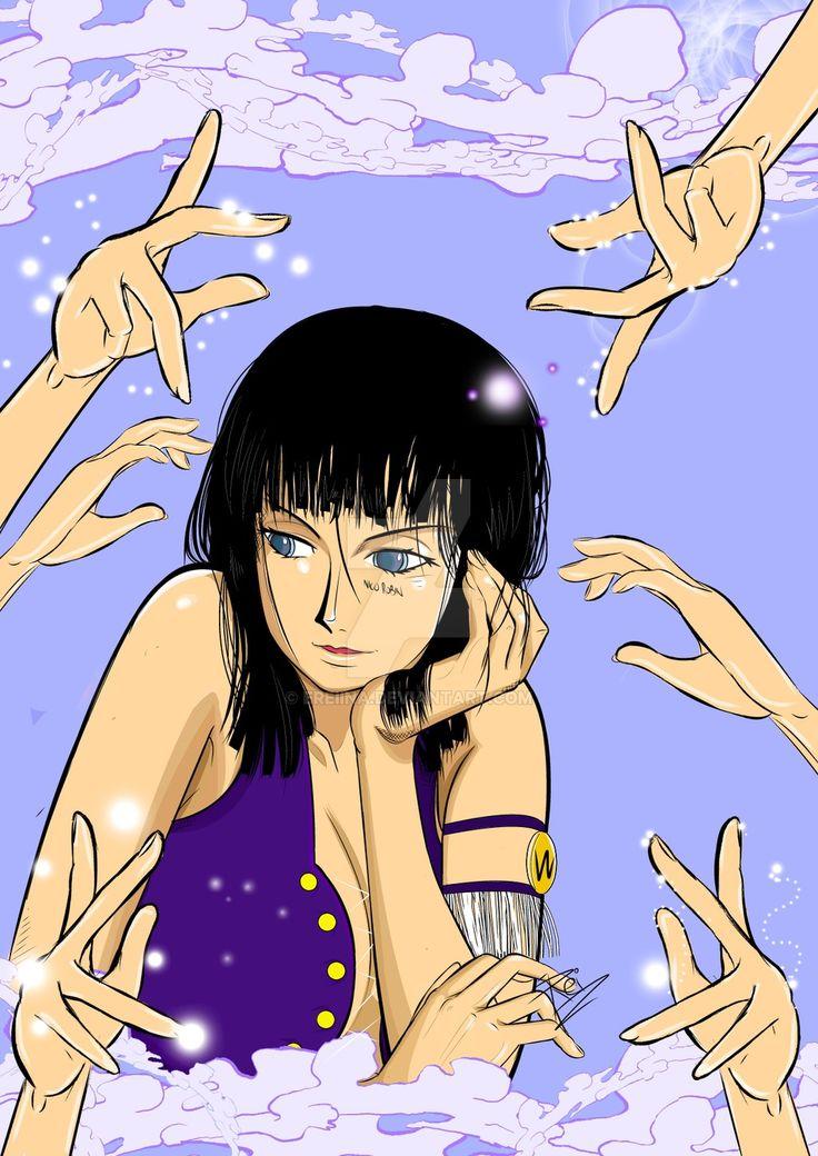 Nico Robin - One Piece by eREIina.deviantart.com on @DeviantArt