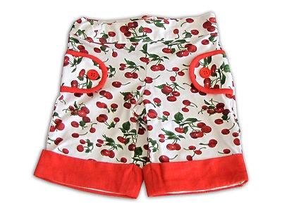 Baby Gassy Gooma Girls Cherry Shorts from Ebay Store - Bambini Magic