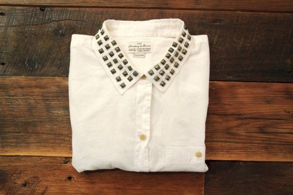 YES!!This would definitely spruce up a plain white button down!! I'm going to do this!