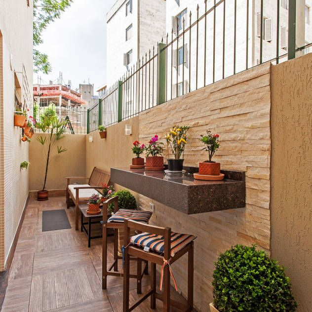 Ideas im genes y decoraci n de hogares for Jardines en balcones pequenos