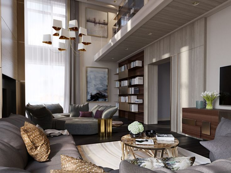 TOP DESIGNERS IN RUSSIA LUXURY PROJECTS BY FULL HOUSE DESIGN STUDIO See More Inspiring Articles At