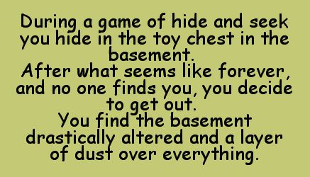 Hide and seek champion.                                                                                                                                                                                 More