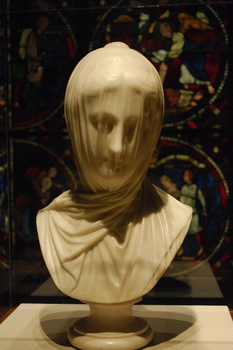 veiled nun by guiseppe croff @ the corcoran.