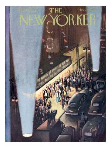 The New Yorker Cover - September 26, 1953 .