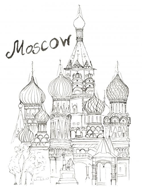 moscow-city-color-60 |Moscow City Coloring