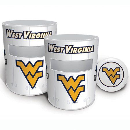 West Virginia Mountaineers Kan Jam Game Set, White