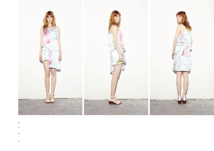 Asymmetric layered dress with plastic bag printed pattern