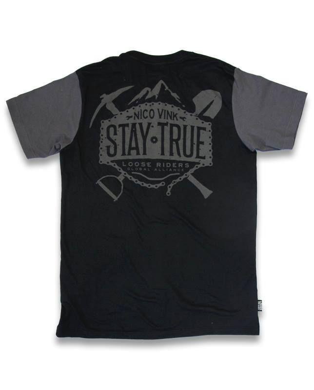 Loose Riders Herren NICO VINK T-Shirts.Tattoo,Biker,Oldschool,Custom Style