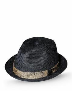 Borsalino cappelli e berretti uomo grigio scuro a 295,00 euro