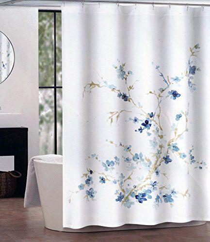 Best Shower Images On Pinterest Shower Curtains Fabric - Beige and blue shower curtain