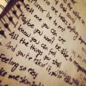 Lyrics to Skin and Bones by Marianaa Trench