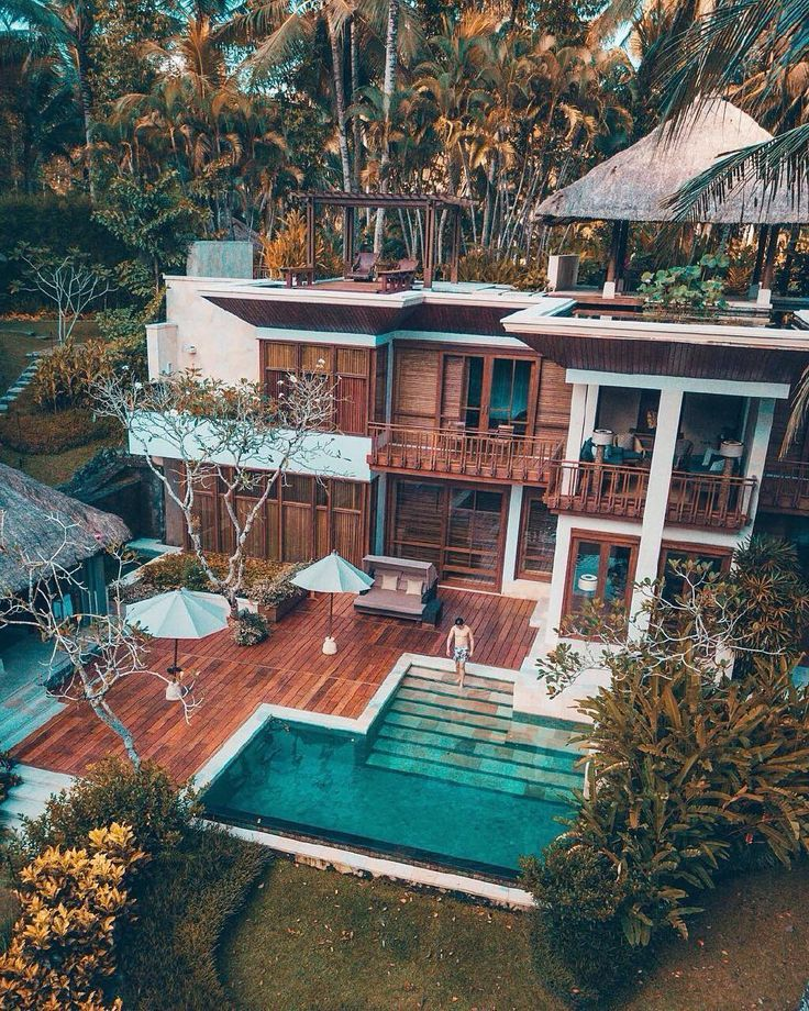 Having your own private villa in the jungle Bali …