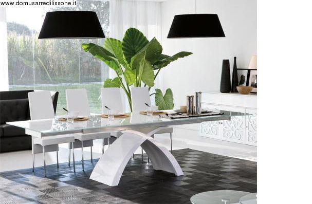 Tavolo Allungabile Tokio Tonin Casa Design Della Sala Da Pranzo Sala Da Pranzo Elegante Tavolo Design