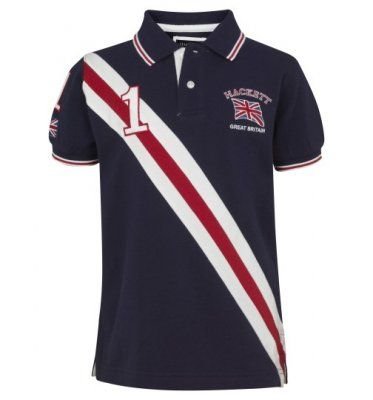 Hackett Army Polo diagonal Union Jack polo shirt. Cheap Ralph Lauren ...