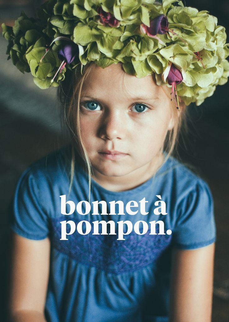 Bonnet à Pompon Spring-Summer15 Campaign