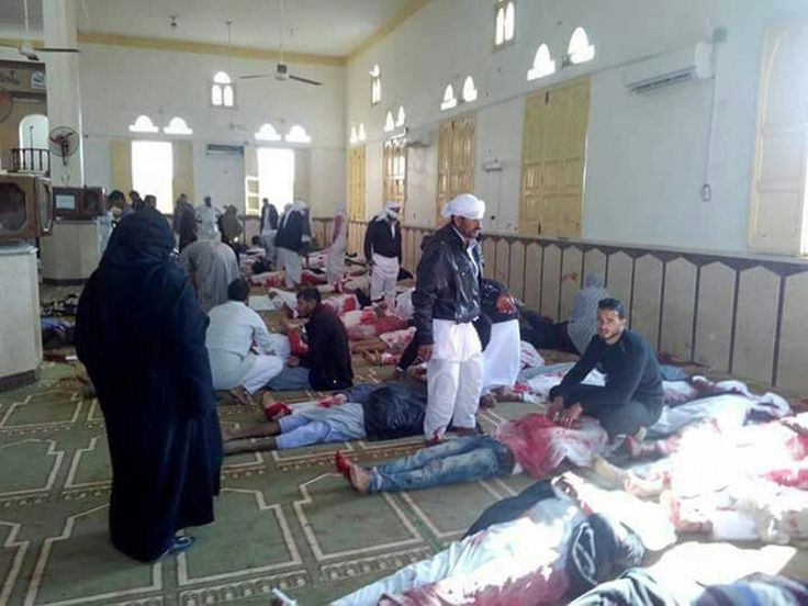 Militants Kill 235 in Attack on Sufi Mosque in Egypt