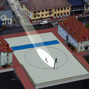 Giant Mirrors to Light Up One Dark Norwegian Town