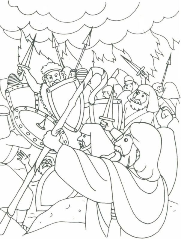 israelites leaving egypt coloring pages - photo#28