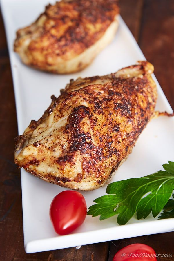 Crispy Oven Roasted Bone-In Chicken Breast   Recipe ...