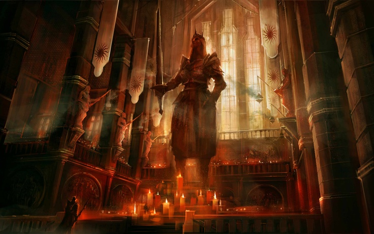 Dragon Age 2, The chantry.