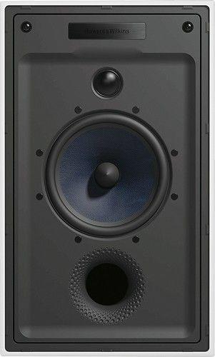 """Bowers & Wilkins - 5-9/10"""" 2-Way In-Wall Speaker (Each) - white"""