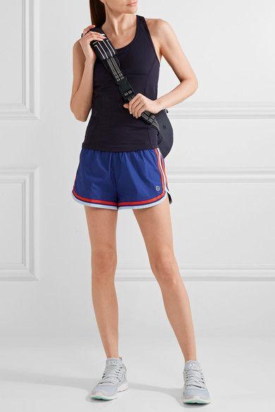Tory Sport - Striped Shell Shorts - Storm blue - medium