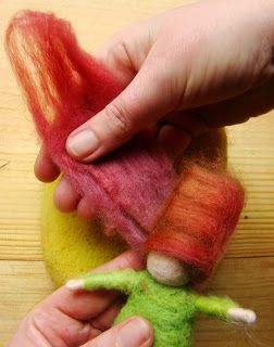Gnome Figurine Wool Felting Tutorial