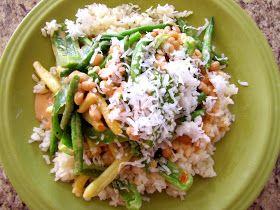 The China Study survival guide: Thai coconut peanut curry.... aaahhhhh