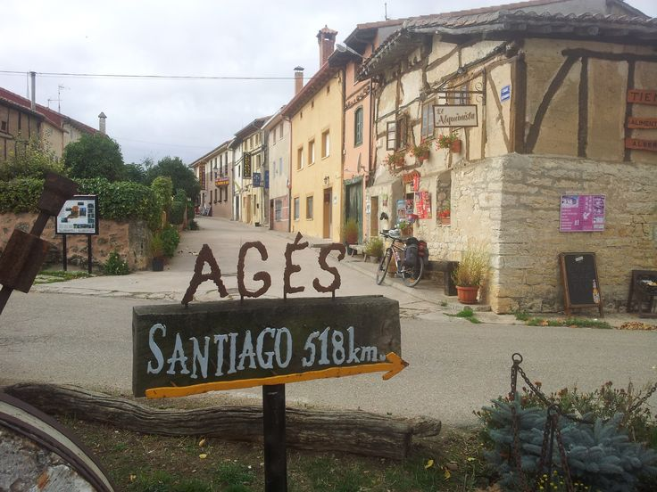 Agés, Burgos, Camino de Santiago