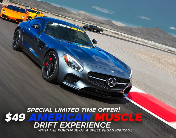 5 Days Left to Book Your American Muscle- Shelby Drift Combo Package! https: