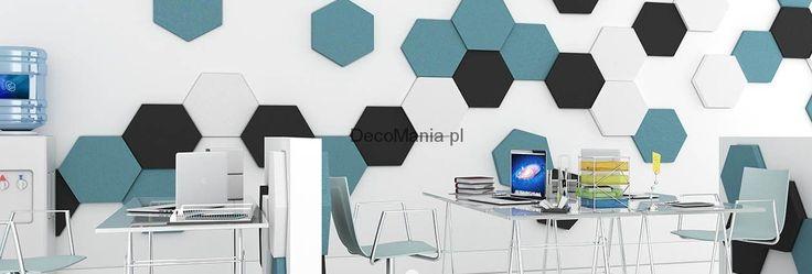 Panel miękki 3D - Fluffo - Hexa 30 mm | DecoMania.pl