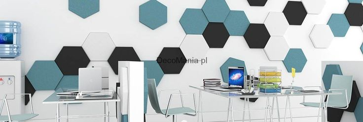 Panel miękki 3D - Fluffo - Hexa 30 mm | DecoMania.pl