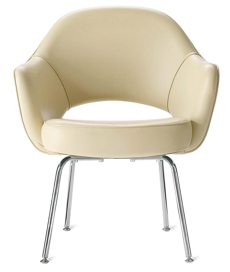 Saarinen Executive Armchair With Metal Legs Nice Ideas