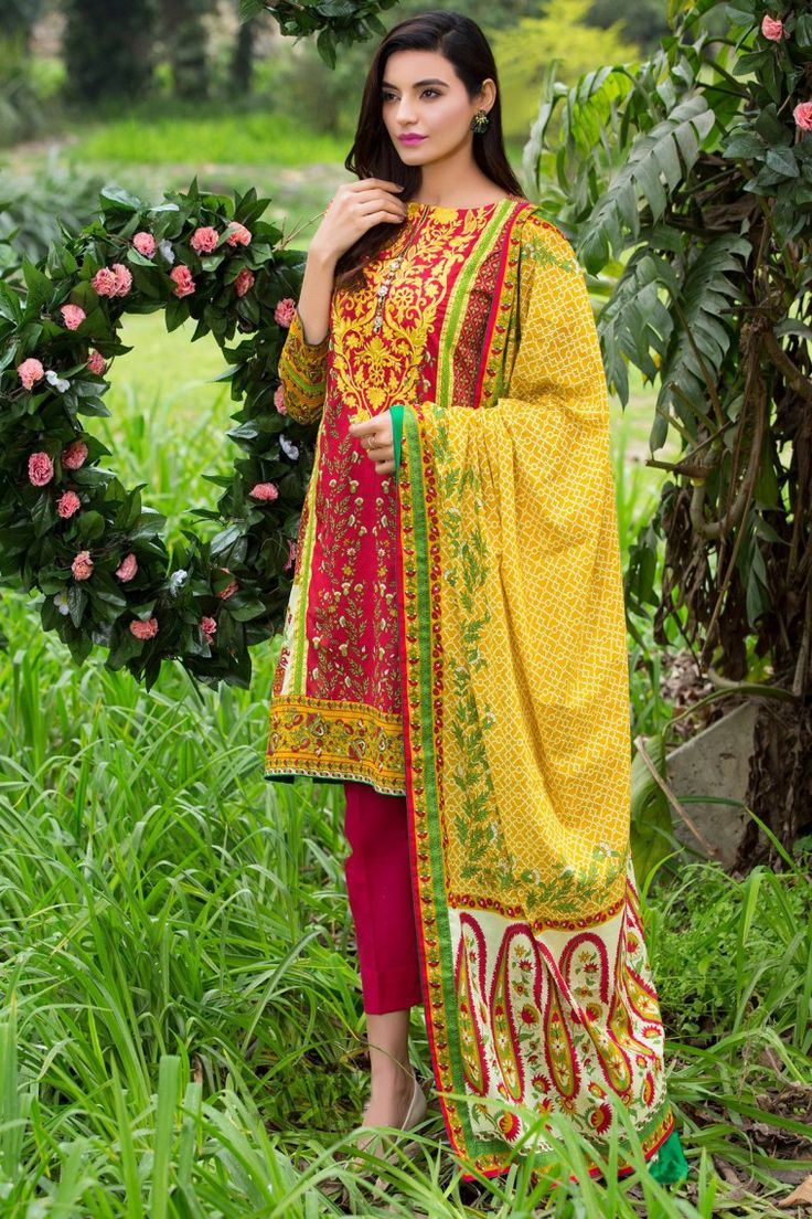 Yellow 3 piece prêt ready to wear Embroidered Pakistani dress online shopping at a discounted price Alkaram Studio Spring Summer Festival Eid collection Volume 2 2017   #Alkaram #Zeen #Pret #Pretwear #Readytowear #Style #love #Eid #2017 #fashion #women #3piece #pakistani #Pakistan #bridal #prom #dinner #date #wear #dress #brand #designerwear #designer