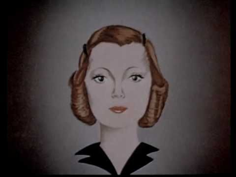 What better tutorial for the 1940s than a tutorial FROM the 1940s? This is an absolutely adorable video that demonstrates all the wrong and right ways for a round, square and long face to wear hair, clothing and lipstick!