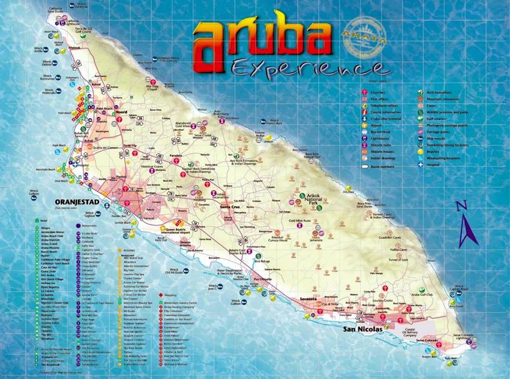 aruba maps | about this map the actual dimensions of the aruba map are 1500 x 1118 ...