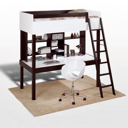 1000 id es sur le th me lit mezzanine pas cher sur pinterest meuble chene - Lit mezzanine discount ...