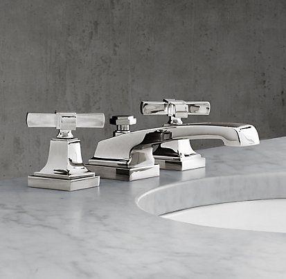 Faucets tub fills restoration hardware bath for Restoration hardware bathroom faucets