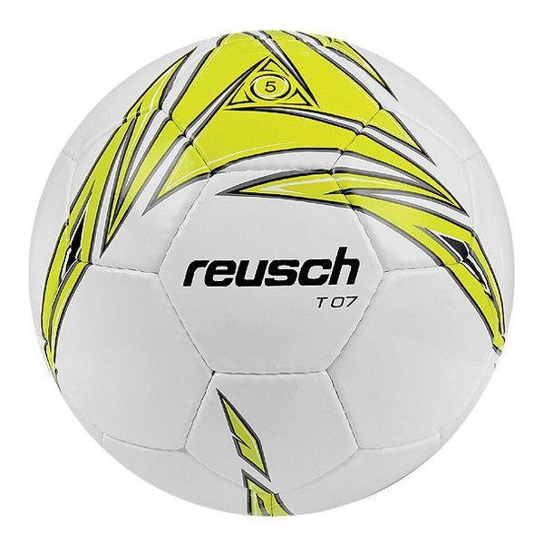 Piłka nożna Reusch T-07 czarno-żółta. Oryginalna piłka nożna treningowa firmy REUSCH. Solidne wykonanie zapewniające doskonałą wytrzymałość. #pilkanozna #pilkatreningowa #sportyduzynowe