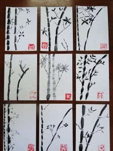 """www.naamjai.com """"Create It"""" Ancient Chinese Art: Brush Painting and Stamp Making"""
