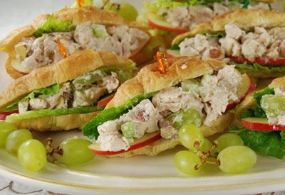 Tops Friendly Markets - Recipe: Chicken Salad and Apple Croissants