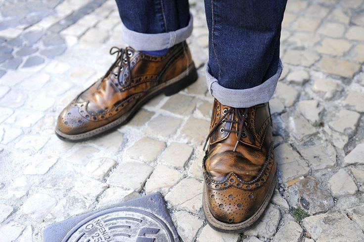 Bruno gosta de sapatos e investe no produto português, que alia design e qualidade.